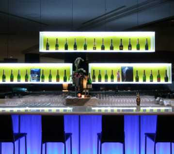 bartenders counter